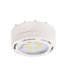 Canarm 3580LED-PLW-C - 3580 LED-PLW-C, Undercabinet,120v Linkable LED Puck Light, White,1 Light Kit, 8 LEDs,3000K, 275Lumen