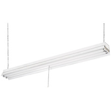 "Canarm EFS848232 - ES Fluorescent, EFS848232 (FS842-KD), 48"" Shop Light Knockdown with 8' Cord and Plug, Pull C"