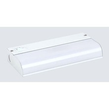 "Canarm FB5101-C - Fluorescent, FB5101-C, 9 1/8"" Under Cabinet Fluorescent Strip Bar, Direct Wire, 1 Bulb, 6W T5 (I"