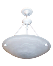 Whitfield CH0028-20WH - 3 Light Bowl Chandelier
