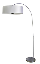 Whitfield FL128SSSHADE2207PW - 1 Light Floor Lamp With Shade