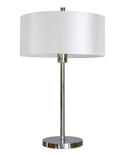 Whitfield TLB24CHSHADE1607PW - Table Lamp with Shade